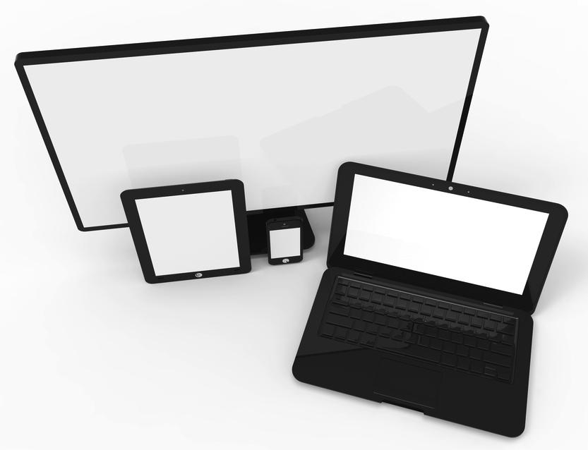 TV, laptop, smartphone, tablet