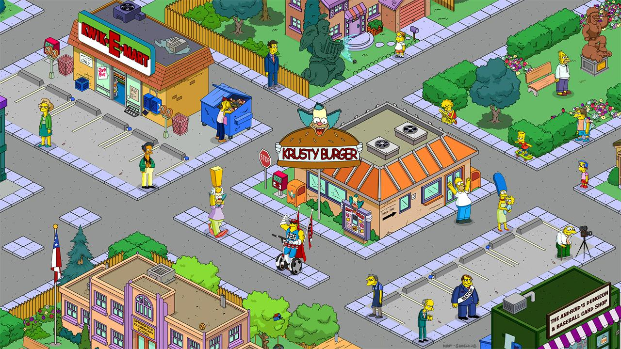 The Simpson's: Tapped Out.
