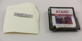 Trashed E.T. Atari 2600 cartridge from New Mexico landfill lands in Smithsonian