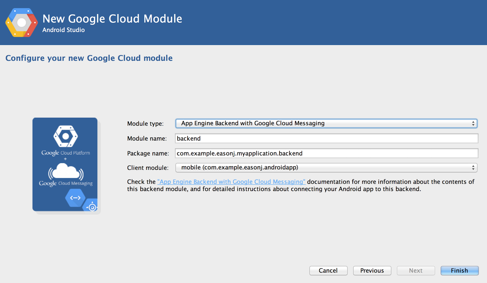 Easily add Google Cloud features to your app.