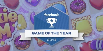 Facebook's best games of 2014 include Cookie Jam, Cower Defense, Bubble Witch 2 Saga, and more