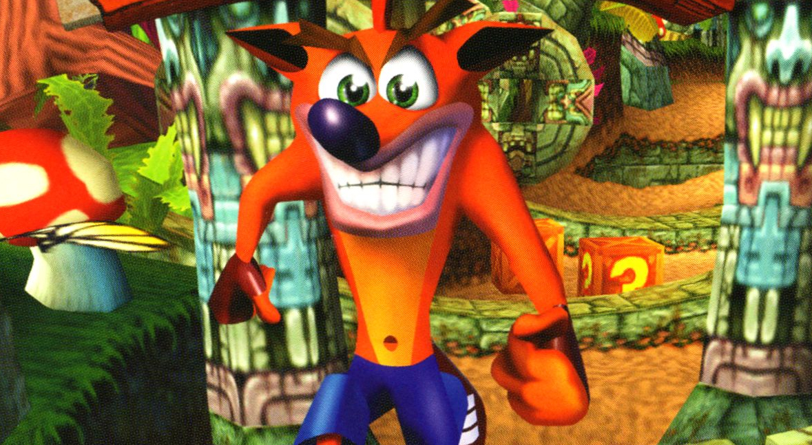 Look out, Mario and Sonic. Here comes Crash.
