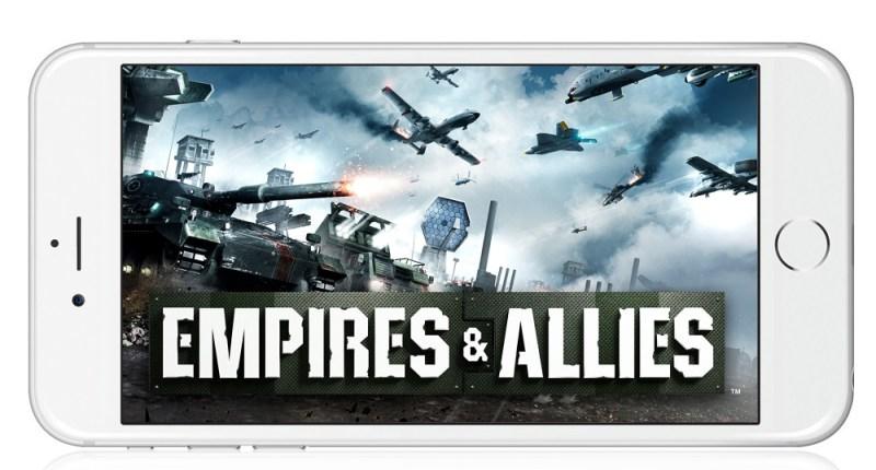 Empires & Allies mobile vesion