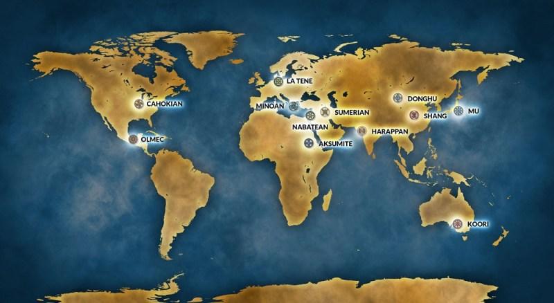 Endgame map