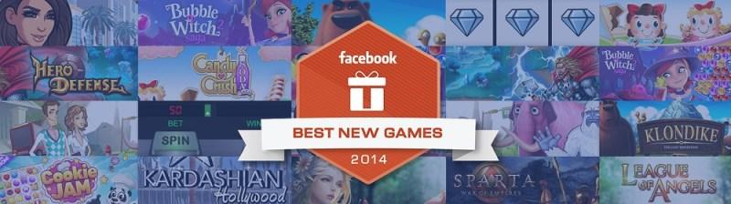Facebook Best New Games of 2014