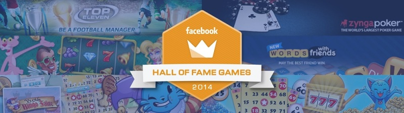 Facebook Hall of Fame Games for 2014
