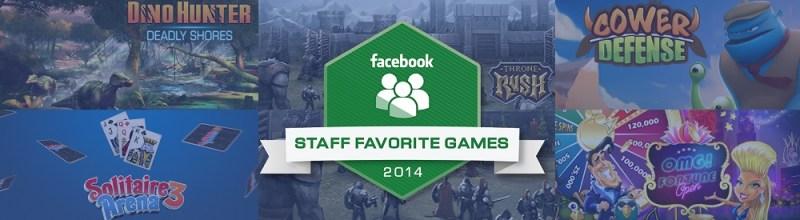 Facebook Staff Favorite Games for 2014
