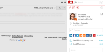 How FullContact helps make Gmail contacts less lame
