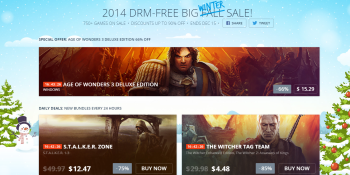 Free copies of Age of Wonders in GOG's Winter PC game sale