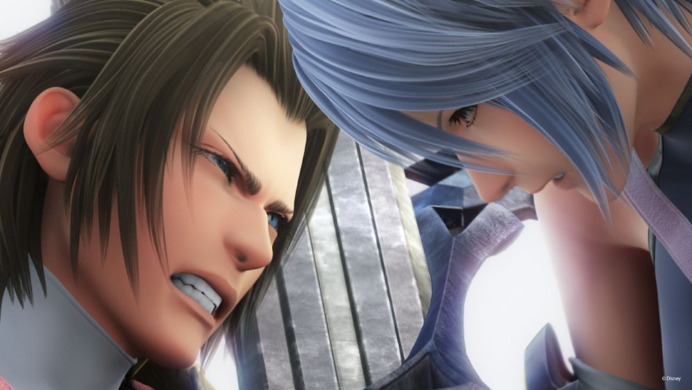 Birth by Sleep features double the angst of a normal Kingdom Hearts game.
