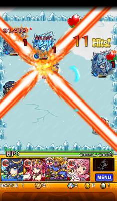 Monster Strike blast
