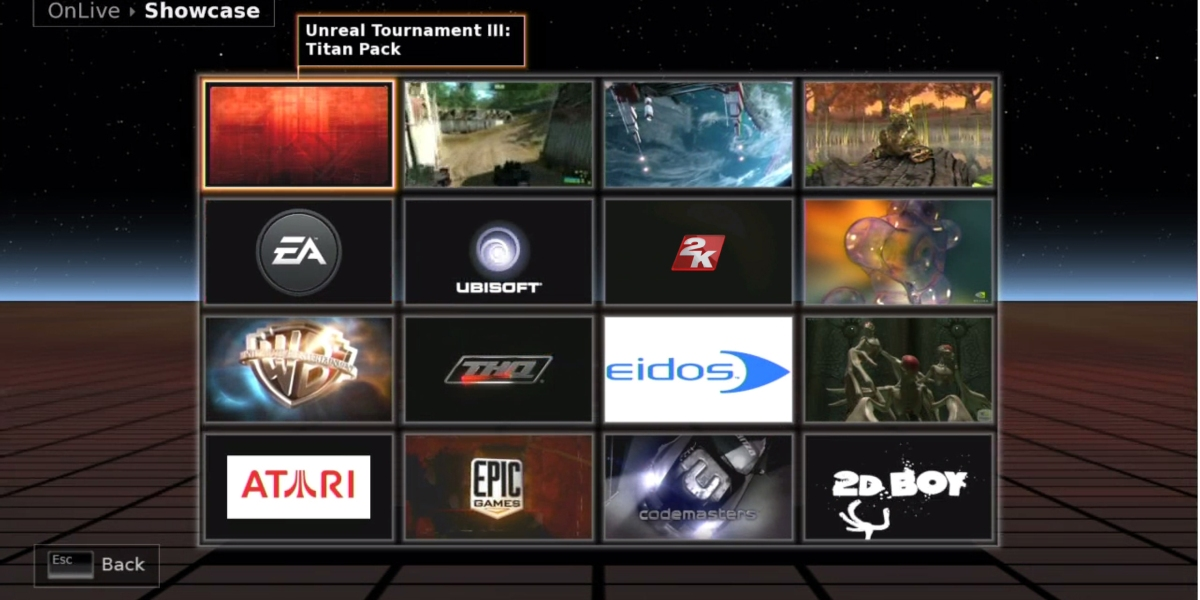 Onlive was a major early attempt at console-free gaming