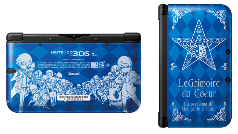 The Persona Q 3DS is pretty snazzy.
