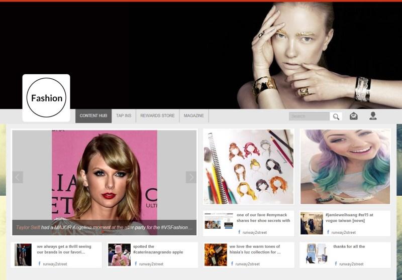 A screen from branded community/loyalty marketing platform Parllay Channels
