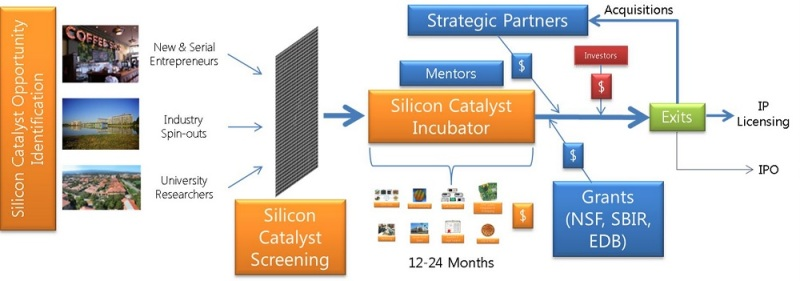 Silicon Catalyst process