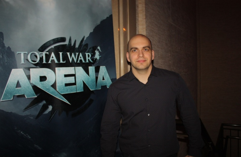 Gabor Beressy, project lead of Total War: Arena