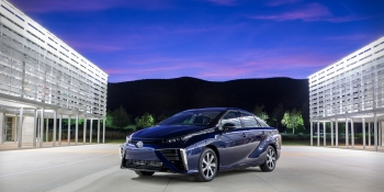 The hydrogen-powered Toyota Mirai is not the eco-friendly car we've been looking for