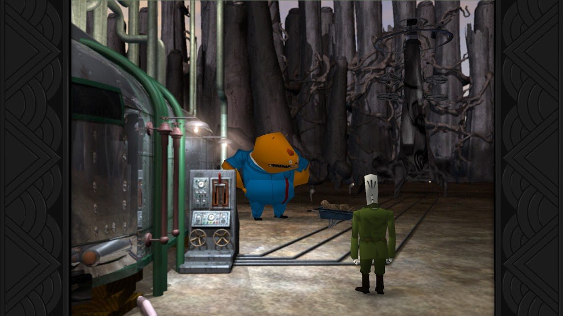 One of Grim Fandango's trickier early puzzles.