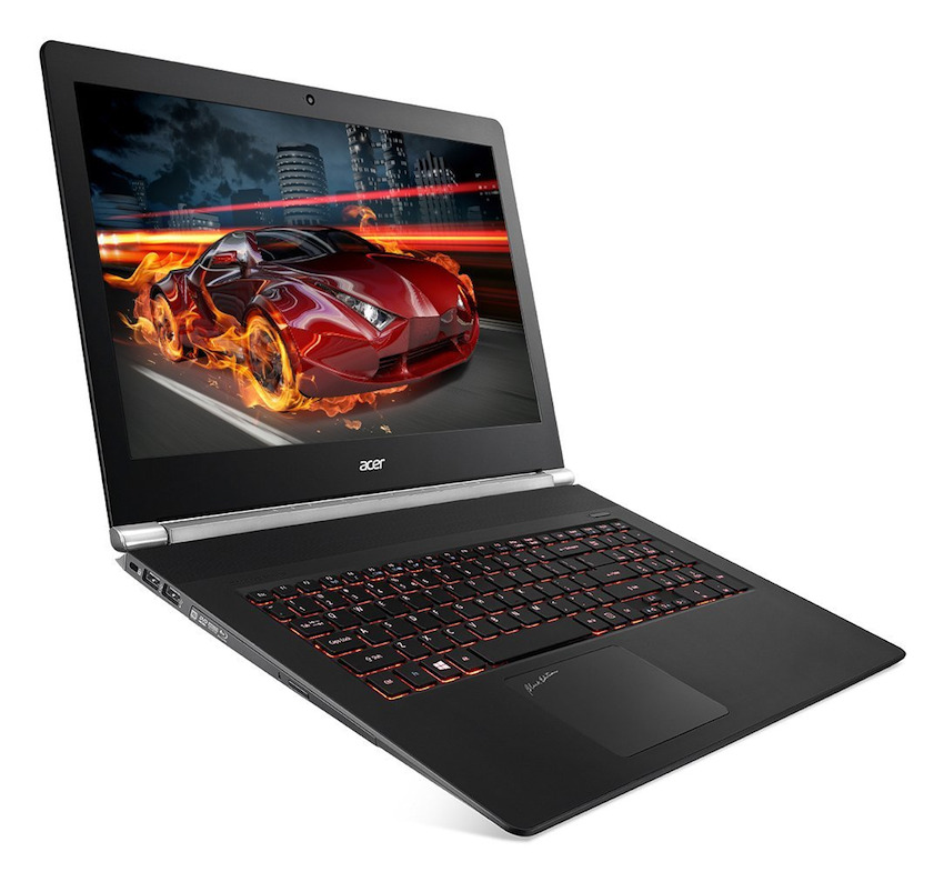 The Acer Aspire V17 Nitro, in the previously released Black Edition