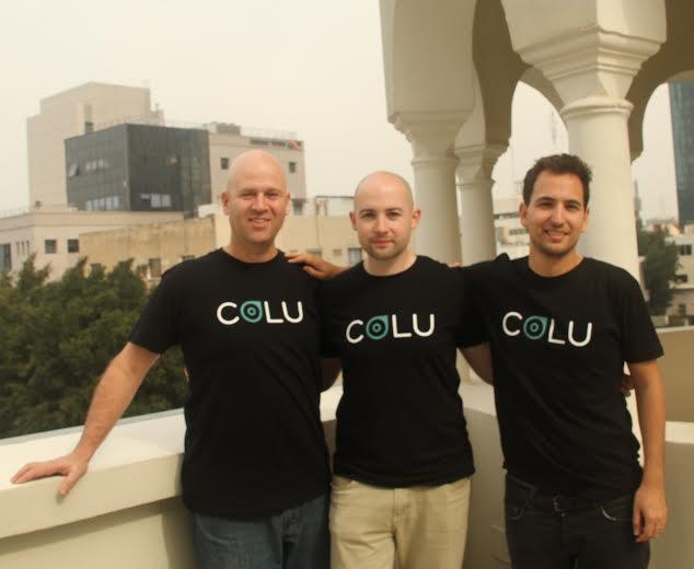 Colu Founders Amos Meiri, David Ring and Mark Smargon.