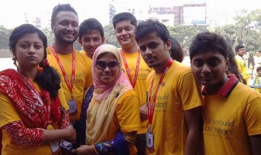 CriticaLink first responder volunteers in Bangladesh.