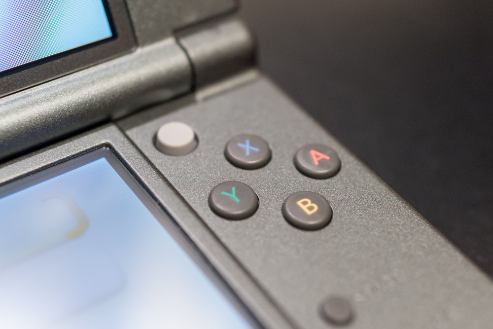 New Nintendo 3DS XL face buttons and C stick