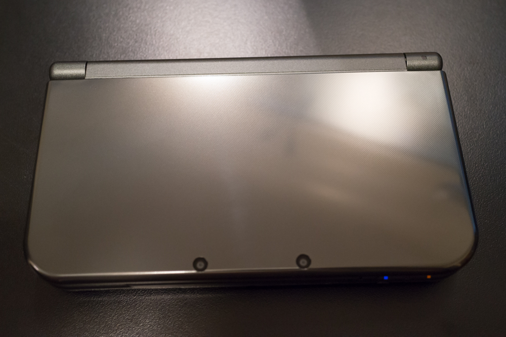 New Nintendo 3DS XL top view