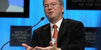Google's Eric Schmidt: Better broadband will save the world