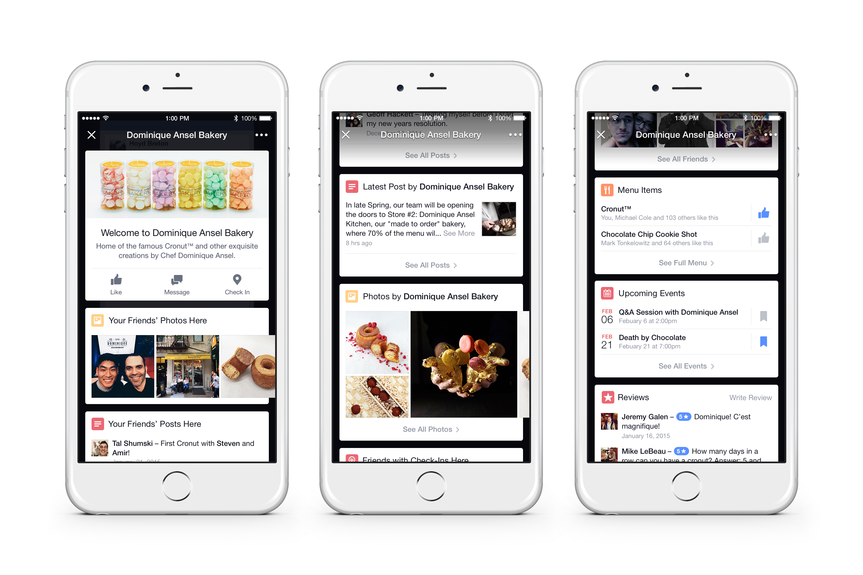Facebook invades yelp foursquare territory with geo for Apps ideas for iphone