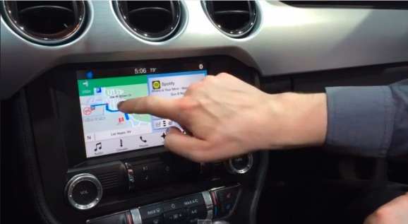 ford 39 s sync 3 connected car platform keeps pace with carplay android auto hands on venturebeat. Black Bedroom Furniture Sets. Home Design Ideas