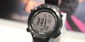 Hands on with Epson's new Runsense smartwatch