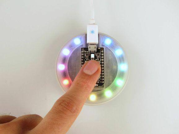 The Spark Internet Button