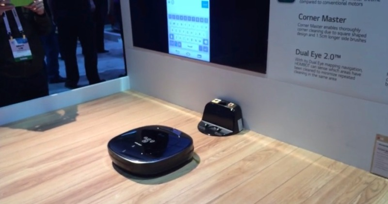LG's new Hom-Bot connected vacuum should give Roomba a run for its money.