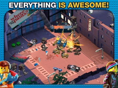 Warner Bros  pieces together The Lego Movie Videogame for