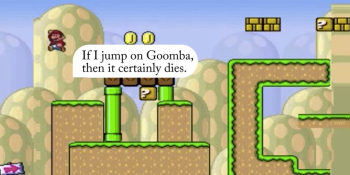This artificially intelligent Mario learns how to chase coins and navigate the Mushroom Kingdom
