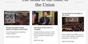 How to watch and follow tonight's State Of the Union online