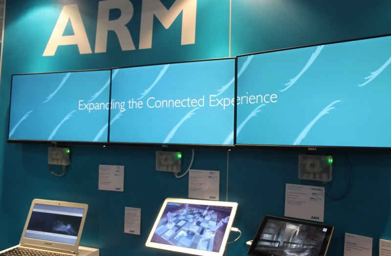 ARM graphics can power multiple displays.