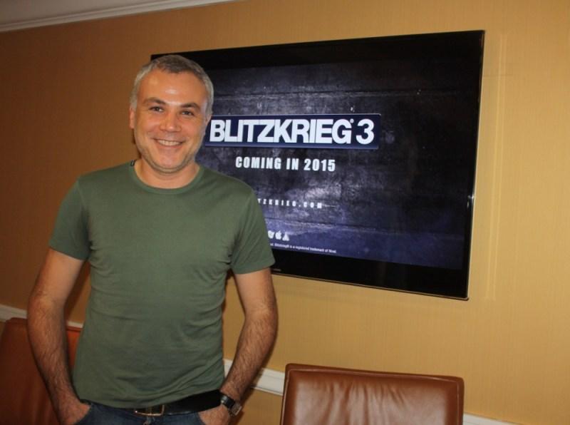 Sergey Orlovskiy, CEO of Nival