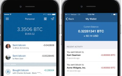 bitcoin address in coinbase