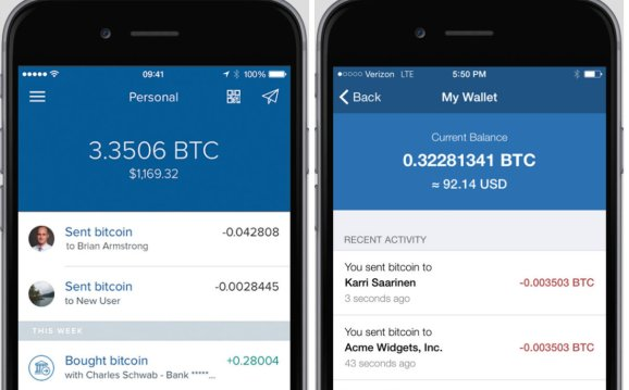 Coinbase Releases Redesigned IOS And Android Bitcoin Wallet App