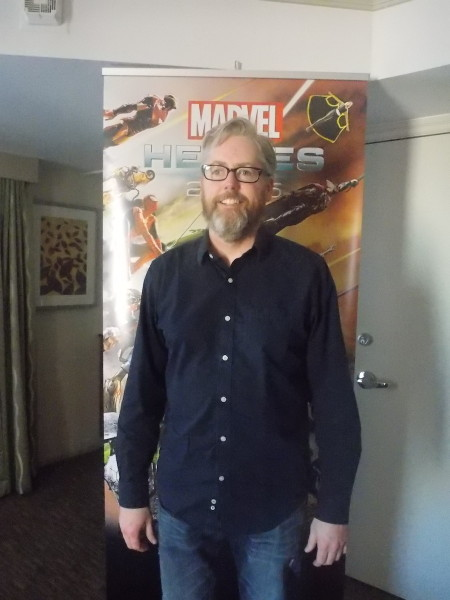 David Brevik, former CEO of Gazillion Entertainment.