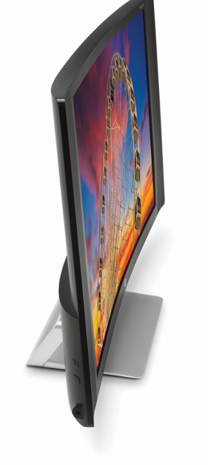 HP curved display