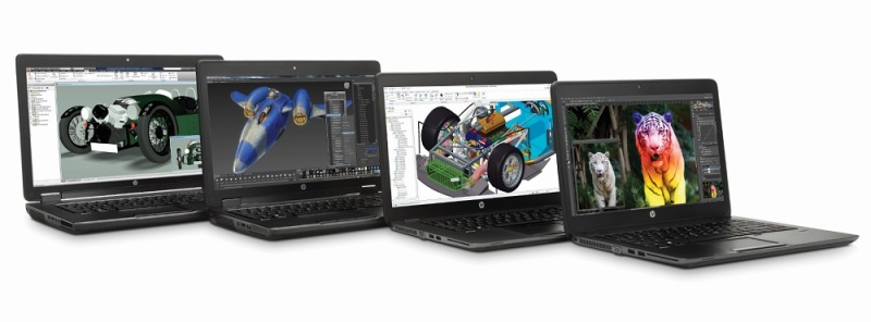 HP Zbook workstation family