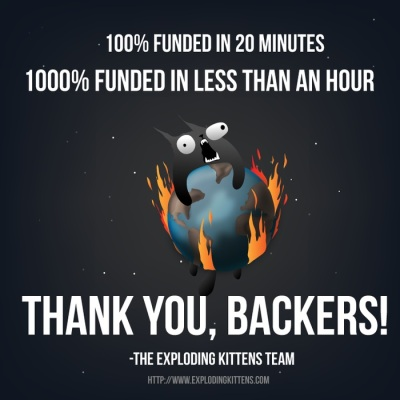 Exploding Kittens Shows Us The Keys To Kickstarter Records Cute