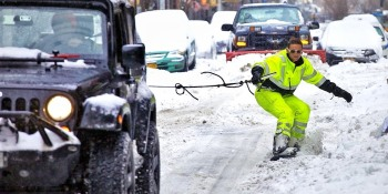 A non-jerk's guide to being lazy during the blizzard