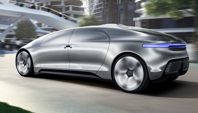 Here 39 S The Video Of The Mercedes Self Driving Car That Lit