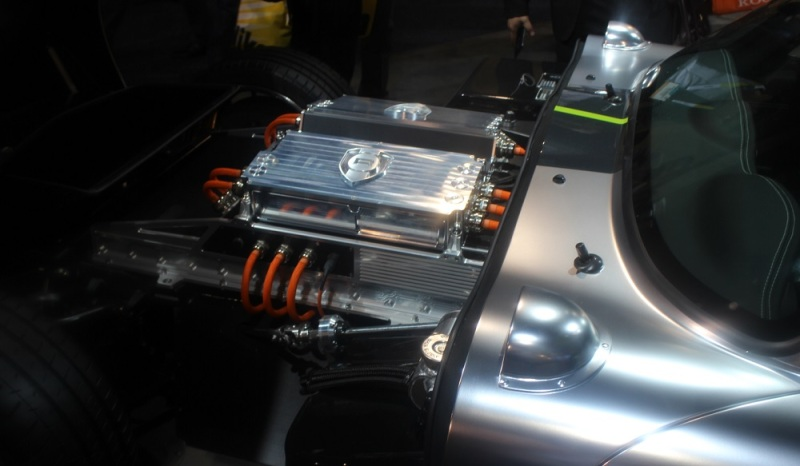 Nvidia demoed the Renovo Coupe production prototype at CES 2015.