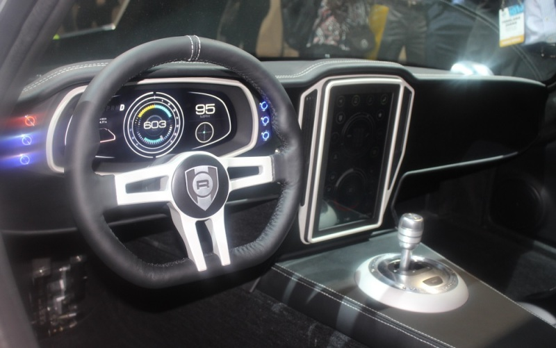 Audi TT dashboard with Nvidia tech.