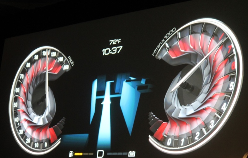 Nvidia concept dashboard