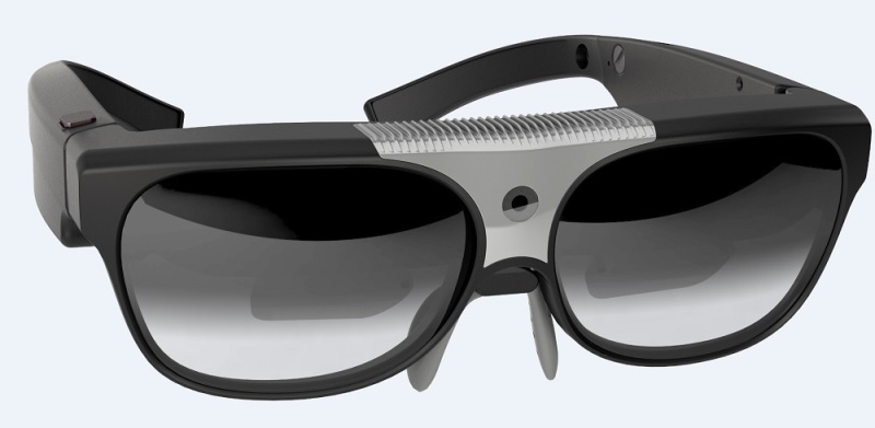 Osterhout Design Group's R6 augmented reality glasses.